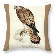 Kestril, Female Throw Pillow