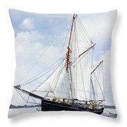 Ketch Rig Solvig Throw Pillow
