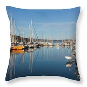 Kettering Harbour Throw Pillow
