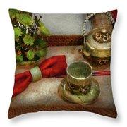 Kettle - Formal Tea Ceremony Throw Pillow