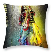 Kev Moore Throw Pillow
