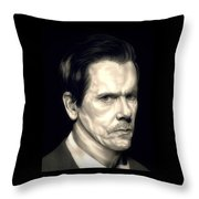 Kevin Bacon - The Following Throw Pillow