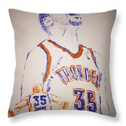 Kevin Durant Throw Pillow