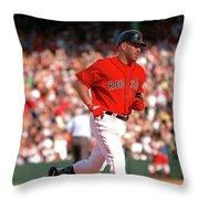 Kevin Youkilis Throw Pillow