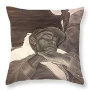 Kevins Great Grandfather Throw Pillow