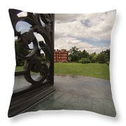 Kew Sundial Throw Pillow
