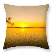 Key Largo Sunrise 2 Throw Pillow