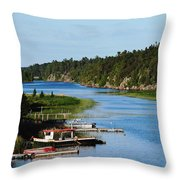 Key River Throw Pillow
