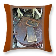 Key To My Heart 1 Throw Pillow
