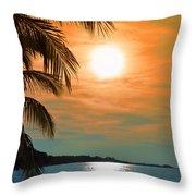 Key West Florida Throw Pillow