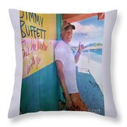 Key West Illusion Throw Pillow
