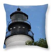 Key West Light Throw Pillow