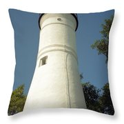 Key West Lighthouse Throw Pillow