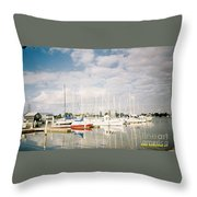 Key West Porting Throw Pillow