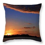 Key West Sunrise 14 Throw Pillow