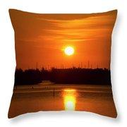 Key West Sunrise 36 Throw Pillow