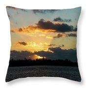 Key West Sunrise 44 Throw Pillow