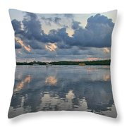 Key West Sunrise 7 Throw Pillow
