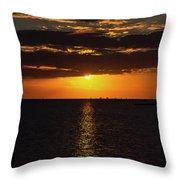 Key West Sunset 29 Throw Pillow