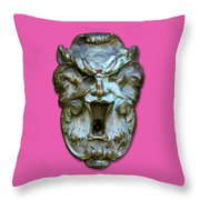 Keyhole To My Heart Throw Pillow