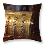 Keys Of Time 2 Throw Pillow