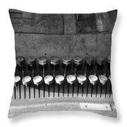 Keys To Commerce Throw Pillow