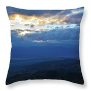 Keys View Sunset Landscape Throw Pillow