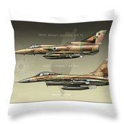 Kfir And Netz Throw Pillow