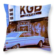 K G B Studios Los Angeles Throw Pillow