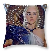 Khaleesi Throw Pillow