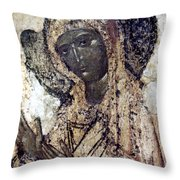 Khalkopratiyskaya Virgin Throw Pillow