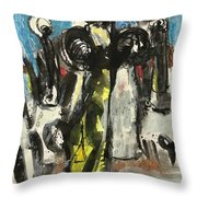 Khanam Worshiper Throw Pillow