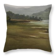 Khandakwasla Haze Throw Pillow
