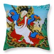 Kharchen Pelgi Wangchuk Throw Pillow