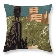 Kharkov, Ukraine, Soviet Union Throw Pillow