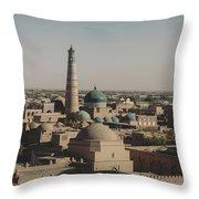 Khiva Throw Pillow