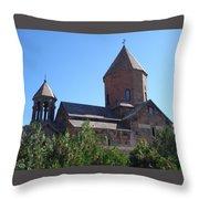 Khor Virap Monastery  Throw Pillow
