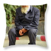 Khorla China Throw Pillow