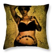Khrist 1 Throw Pillow