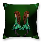 Kick Your Heals Up At The Keg Room Throw Pillow