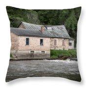 Kickapoo River Museum 2017-4 Throw Pillow