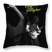Kickback City 2 Throw Pillow