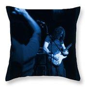 Kickback City Blues Throw Pillow