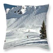 Kicking Horse Cpr Ridge Throw Pillow