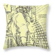 Kid Shelleen, Cat Ballou, Academy Award Winner  Lee Marvin Throw Pillow