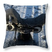 Kiddie Leathers Throw Pillow