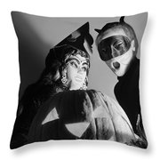 Kids In Halloween Costumes Throw Pillow