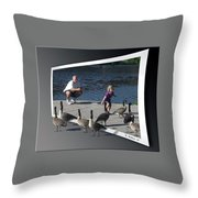 Kids Will Be Kids 2 Throw Pillow