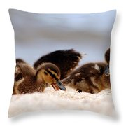 Kids Will Play Throw Pillow