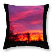 Kiera's Sunset Throw Pillow